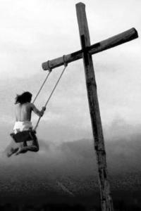 und was machen sie anschließend mit dem Kreuz?